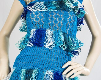 Sale! Handknitted Womens Top