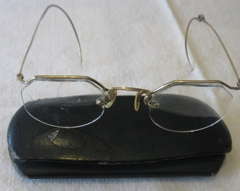 Vintage Eye Glasses and Case