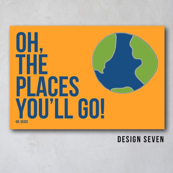 Oh The Places You Ll Go 3 Seuss Inspired By Wallfrostingdesign