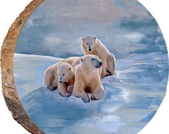 Three Polar Bears - DAB045