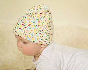 Organic Baby Hat - Organic Baby Clothes - Baby Knot Hat - Organic Baby - Organic Baby Clothes - Organic - Baby Clothes - Organic Fabric