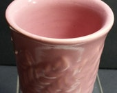 vintage antique Shawnee pot, marked and mint ferns FREE LOWER 48 SHIP