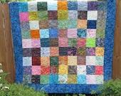 Patchwork Squares Full Quilt