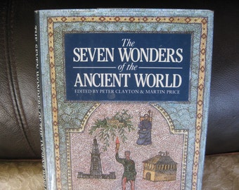 Seven Wonders Ancient World Very good 1993 edition with book jacket