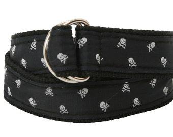 Bean Belts Boys Skull Belt- For Babies, Toddlers & Kids - Fully Adjustable