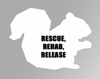 Wildlife Rehabber Window Decal