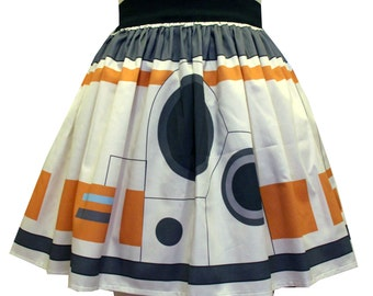 Special Edition Robot Sateen Skirt
