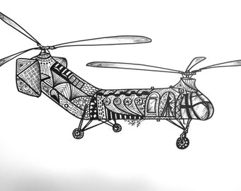 Piasecki H-21 Helicopter