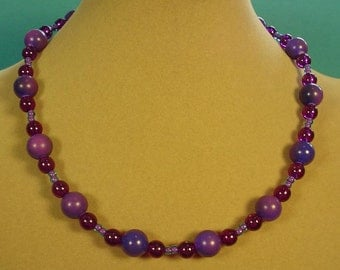 """Feed your PURPLE Passion with this 18"""" Necklace! - N368,369,370,371"""