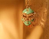 ART Deco Earrings - MARDI GRAS Face Mask Crystal Rhinestone Pierced Earrings