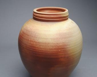 Clay Vase Wood Fired B41