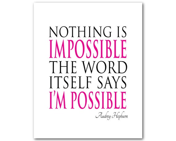 Photo : Nothing Is Impossible Essay Images
