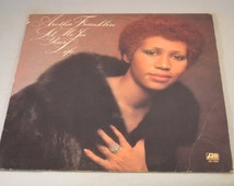 Vintage Gatefold Record Aretha Franklin: Let Me in Your Life Album SD-7292