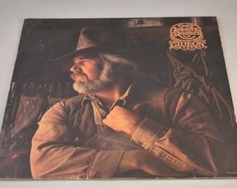 Vintage Record Kenny Rogers: Gideon Album LOO-1035