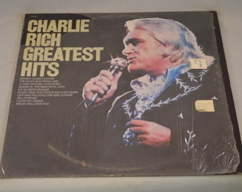 Vintage Record Charlie Rich: Greatest Hits Album PE-34240