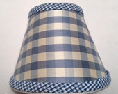Blue Plaid Night Light: D...