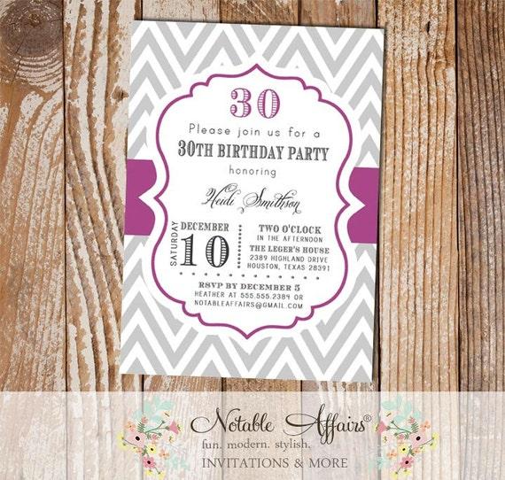 Milestone Birthday 13th, 16th, 18th, 20th, 21st, 30th