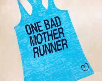 Bad Mother Runner // Fit Mom Tank by Abundant Heart Apparel