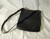 Coach Black Messenger style shoulder bag