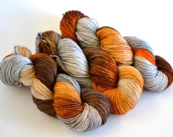 Copper and Zinc Superwash Merino/ Nylon Sock 420 yards/115 g