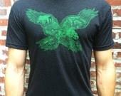 FREE SHIPPING Philadelphia Eagle -- Paul Carpenter Art -- Unisex Philly Artist Print Tee Shirt