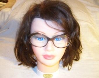 Vintage 60s Oval Glasses - Tortoise Frames - Swank - Currently Have Bi-Focal Lens