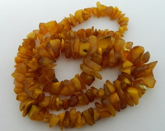 100% Natural Original AMBER Beads Necklace #282S