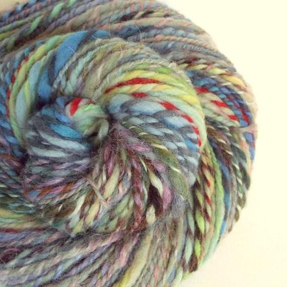 Knitting Handspun Yarn : Handspun art yarn knitting wool for or crochet