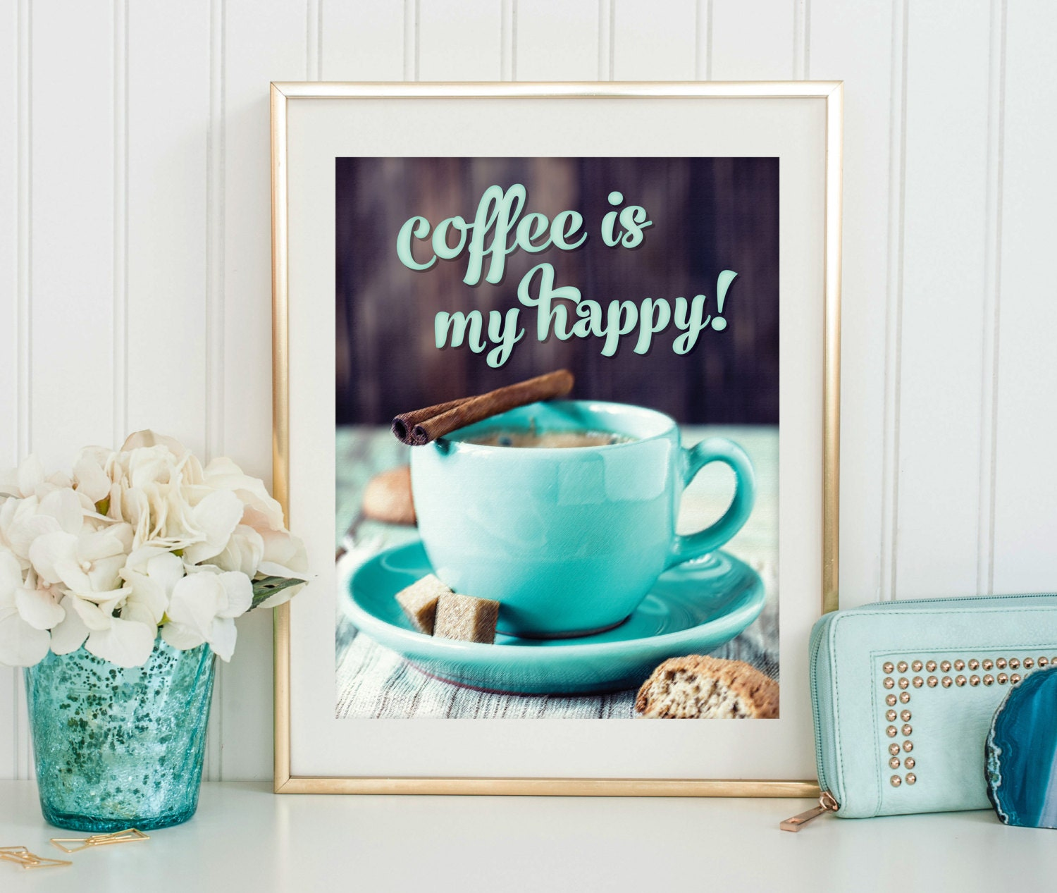 Free Printable Coffee Quotes: Coffee Print Digital Download Printable Art Coffee Quote