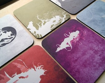 Guild Wars Inspired Mousepads Two Sizes