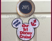 Our 1st Cruise Magnet for Cruise Door