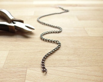 SIlVER PROJECT CHAIN one foot in size