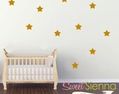 Star wall decals, Star decal, Star wall sticker, nursery wall decal, wall decals, wall stickers, vinyl wall decal stickers  x40