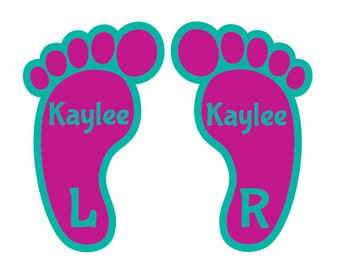 20 Shoe Labels - 10 Left, 10 Right - Waterproof and Fade Resistant Labels