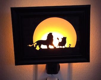 Lion King Inspired Night Light