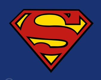 Superman Symbol Minimalist Poster