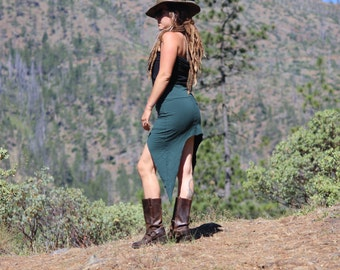 Deep Crescent Mini Skirt {Organic Clothing}