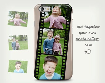 iPhone 6 case, Photo collage case, iPhone 5 case, personalized case, iPhone 5C case, custom photo case, Samsung Galaxy cases, Photo case