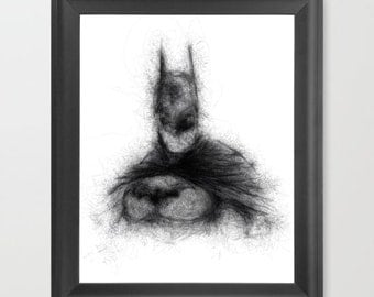 Batman INSTANT DOWNLOAD, DC comic, dark knight, comic book, playroom, kids room, home decor, fathers day, superhero dad, birthday, Comic fan