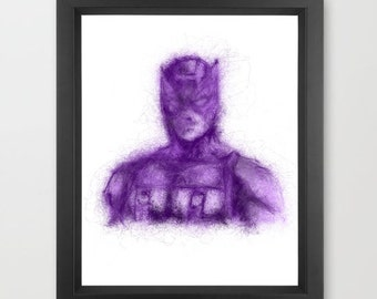 Hawkeye INSTANT DOWNLOAD, Marvel comics, hero, Avengers birthday, room decor, kids superhero - Art Print