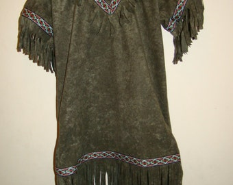Native American Indian Child Size Costume New
