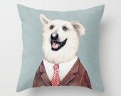Labrador Throw Pillow, Cushion Cover, Decorative Pillow, Animal Pillow, Animal Cushion, Decorative Cushion, Dog Pillow, Kids Animal Decor