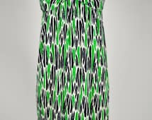 Vintage Dvf Geometric Wrap Dress Wrap Dress Geometric