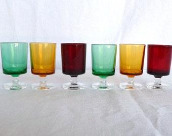 Luminarc cavalier, 9.5cm cordial, sweet  dessert wine glasses