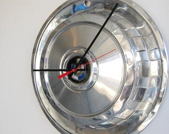 SALE****1958 Mercury Hubcap Clock