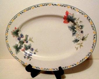 Avon Julie Pople Country Fruit pattern Platter