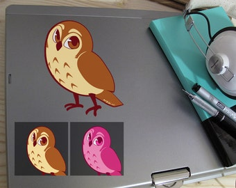 Cute Owl Full Color Decal
