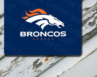 MousepadDenver Broncos Design on Extra Thick Mousepad