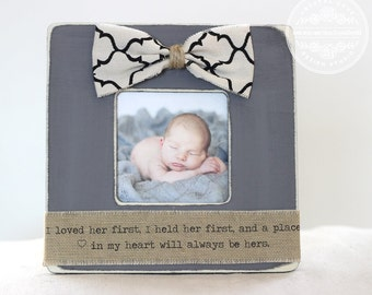 gift for father dad daddy from daughter picture frame i loved her first i held her first fathers day gift for husband