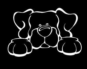 Labrador Retriever Paws Decal Dog